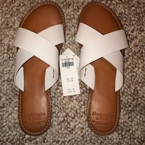 Abercrombie and Fitch sandals NWT